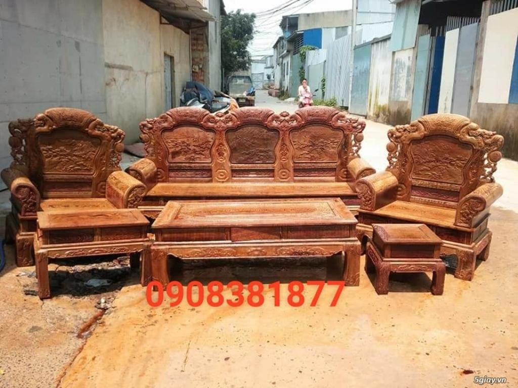 salon phòng khách gỗ quý giá cực rẻ ( xem hàng tại xưởng ) - 8