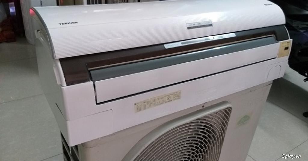 Máy lạnh cũ nội địa nhật Toshiba vào mùa mưa bão - 8
