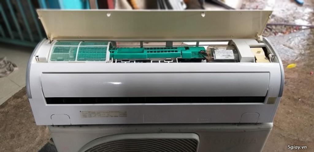 Máy lạnh cũ nội địa nhật Toshiba vào mùa mưa bão - 12