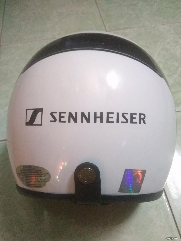 Cần bán : nón bảo hiểm 3/4 Sennheiser mới 100% - 2