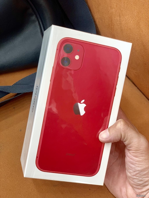 iPhone 11 64G 128G tím vàng trắng đỏ đen new seal 100%.