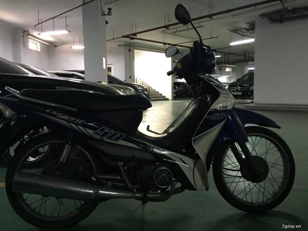 Xe Elegant SYM 50 cc đời 2017 còn rất mới