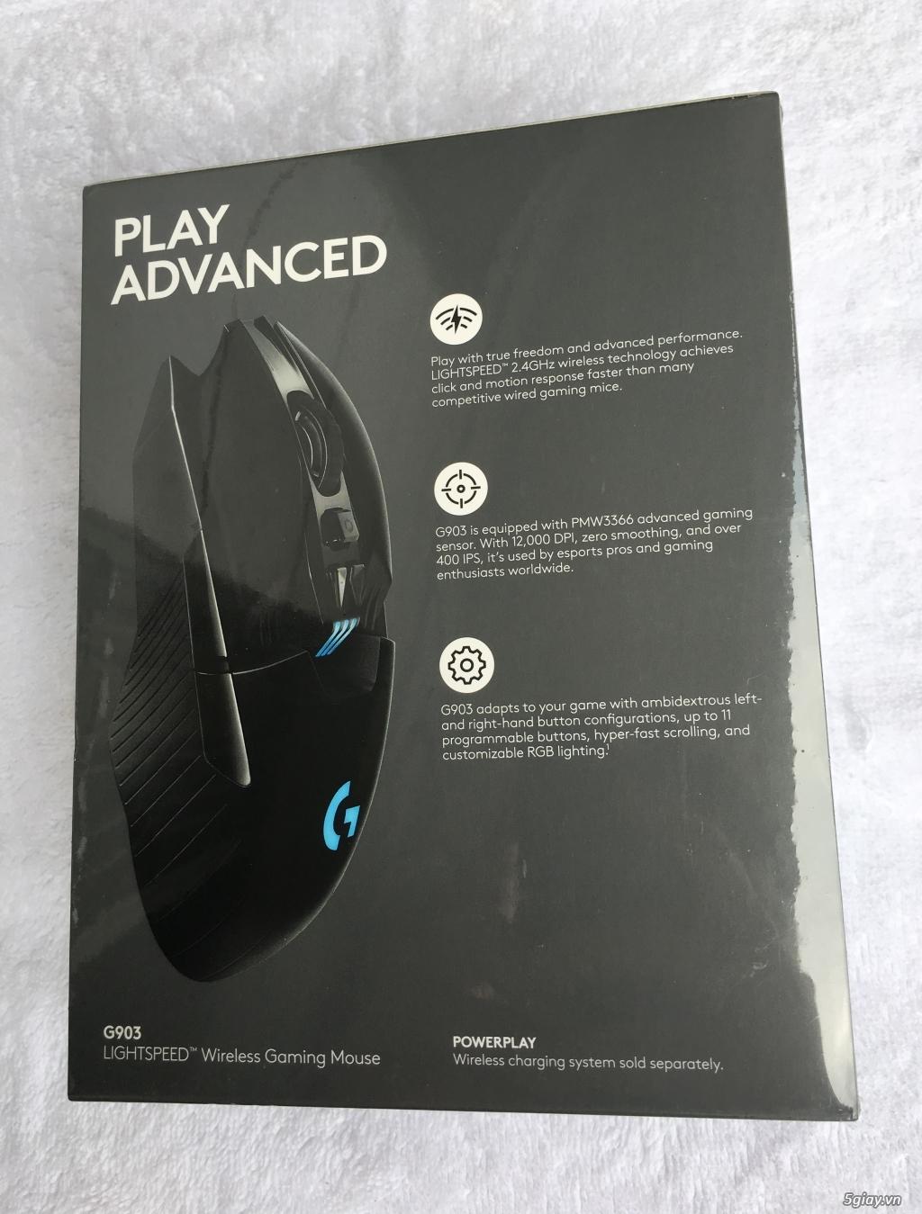 Chuột gaming không dây Logitech G903 hàng US NEW 100% - 1