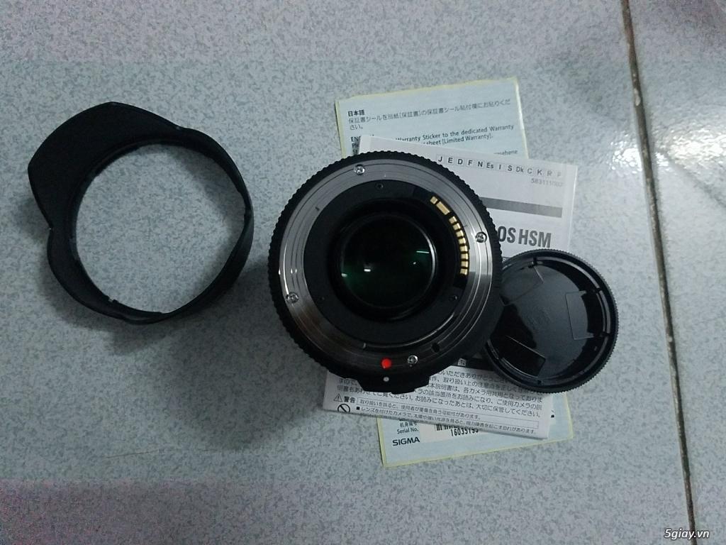 Cần Bán len Sigma 17-55 for Canon 100% - 3