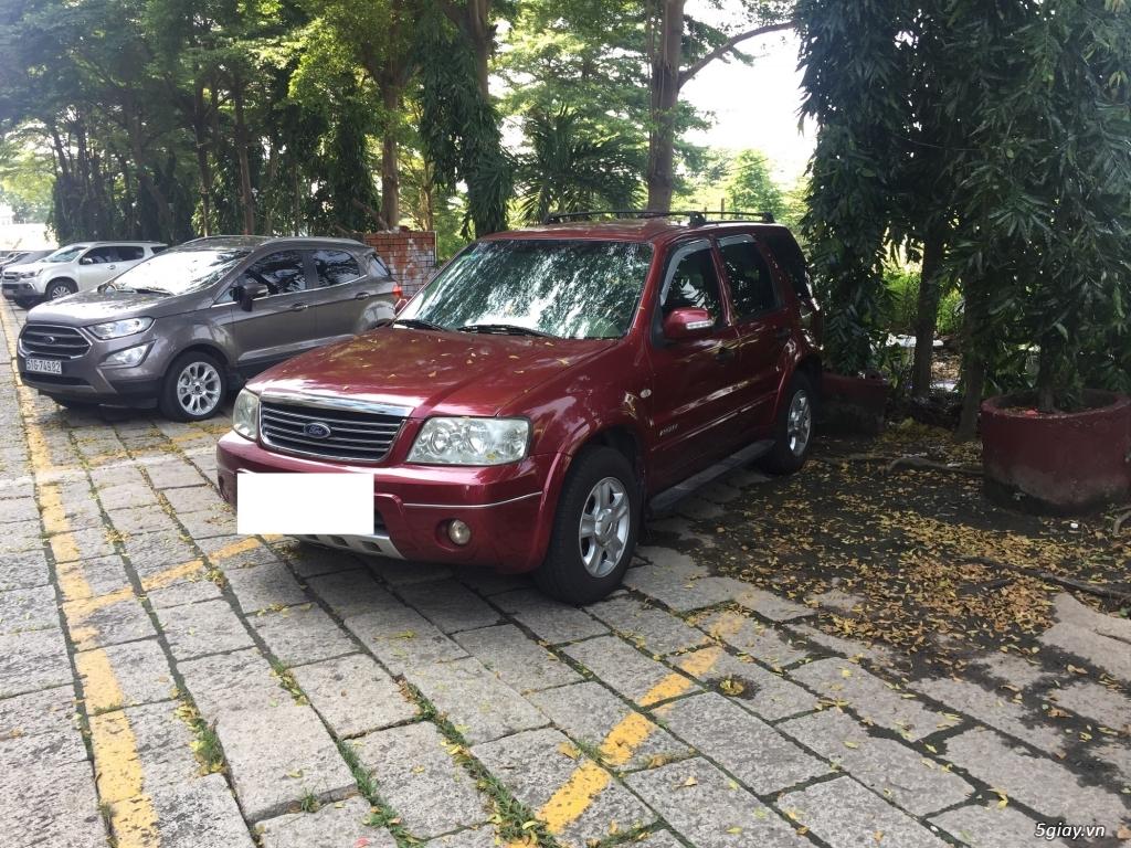 Bán Ford Escape 2005 tự động màu đỏ. - 1
