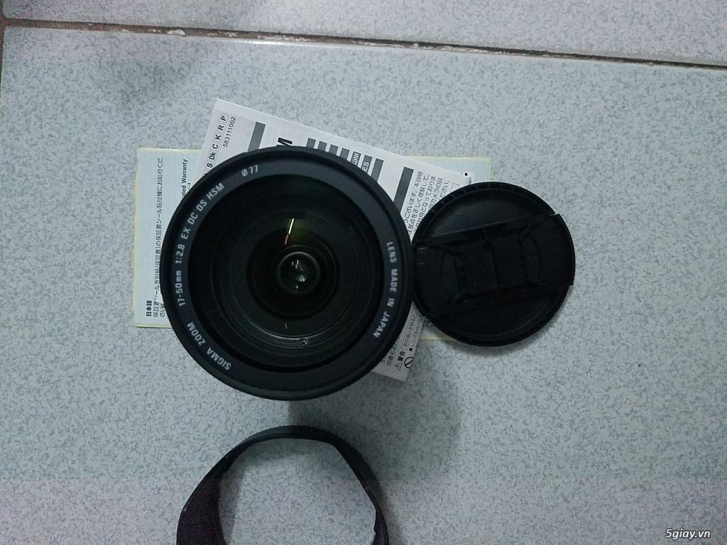 Cần Bán len Sigma 17-55 for Canon 100% - 1