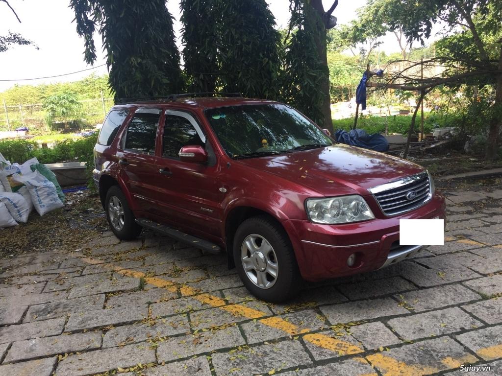 Bán Ford Escape 2005 tự động màu đỏ. - 2