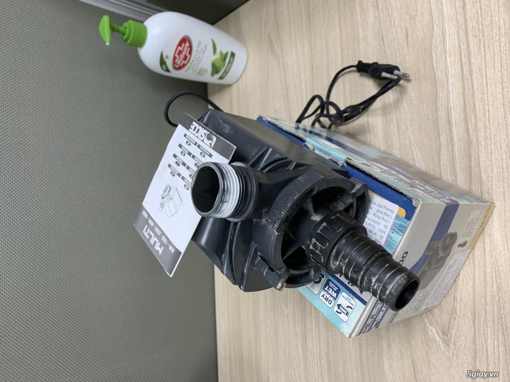 Cần bán 1 máy Bơm, 1 máy Sục oxy Hồ cá (Hàng Ý - Đức Chính Hãng) - 1