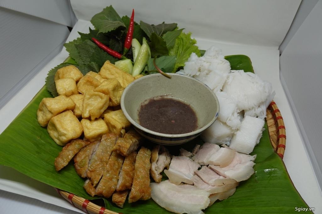(HCM-Q1) Chuyên cung cấp chả cốm - chả sụn gà - nguyên liệu bún đậu - 5