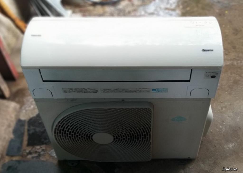 Thanh lý máy lạnh Toshiba 1.5hp Full chức năng - 1