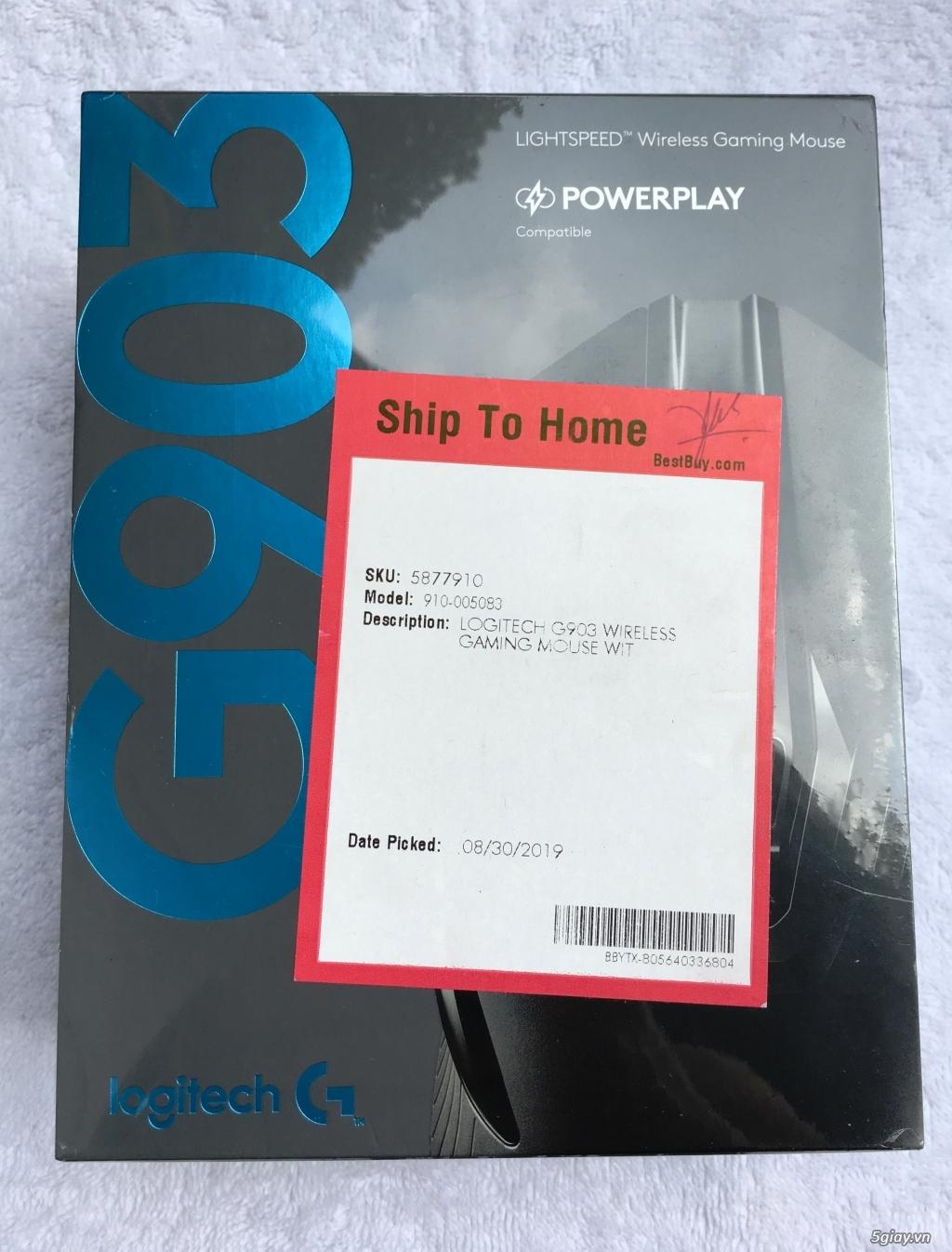 Chuột gaming không dây Logitech G903 hàng US NEW 100%
