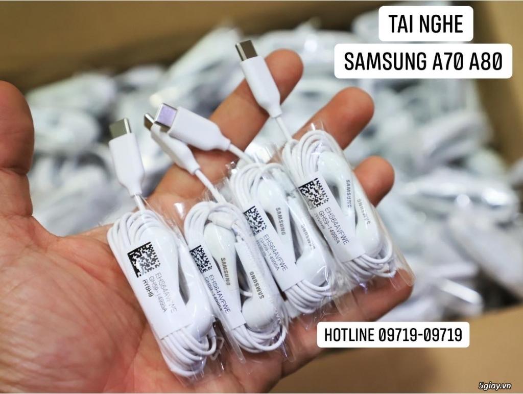 Tai nghe Chính Hãng Samsung A70 A80 chân type C .. End 22h59 - 19/11/2019 - 2