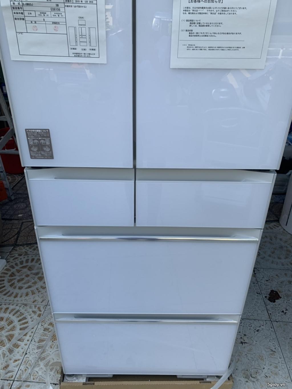 Tủ lạnh Hitachi R-HW60J 600L Màu trắng,Date 2018, Full box, mới 100% - 2