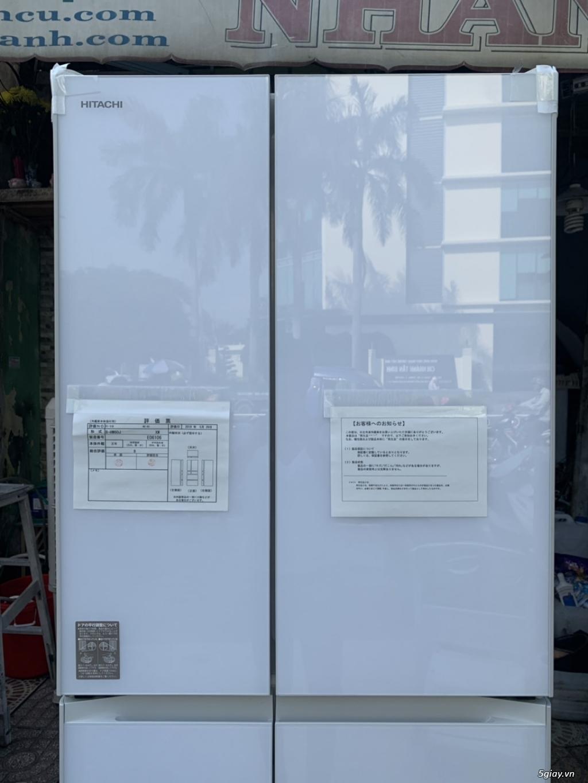 Tủ lạnh Hitachi R-HW60J 600L Màu trắng,Date 2018, Full box, mới 100% - 1