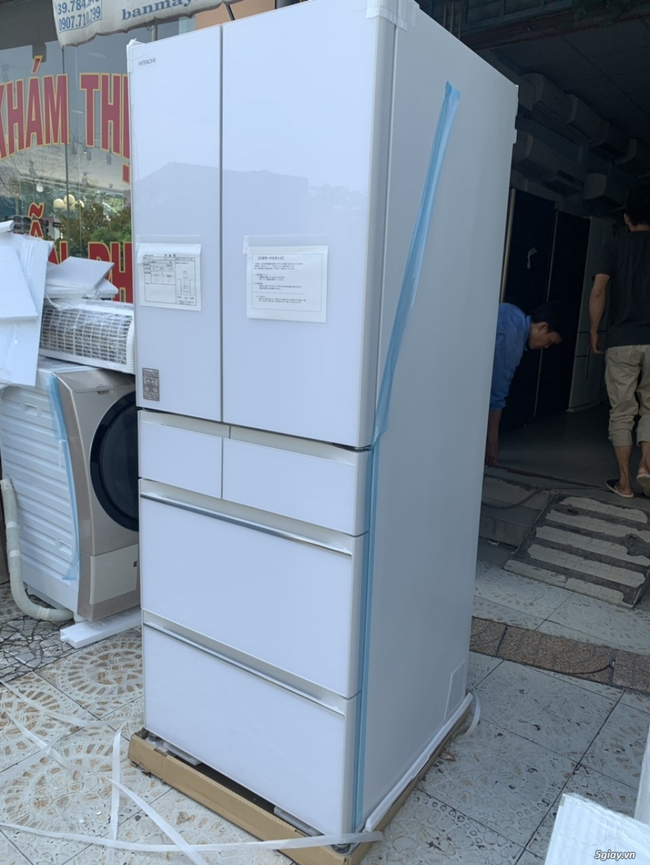 Tủ lạnh Hitachi R-HW60J 600L Màu trắng,Date 2018, Full box, mới 100% - 3