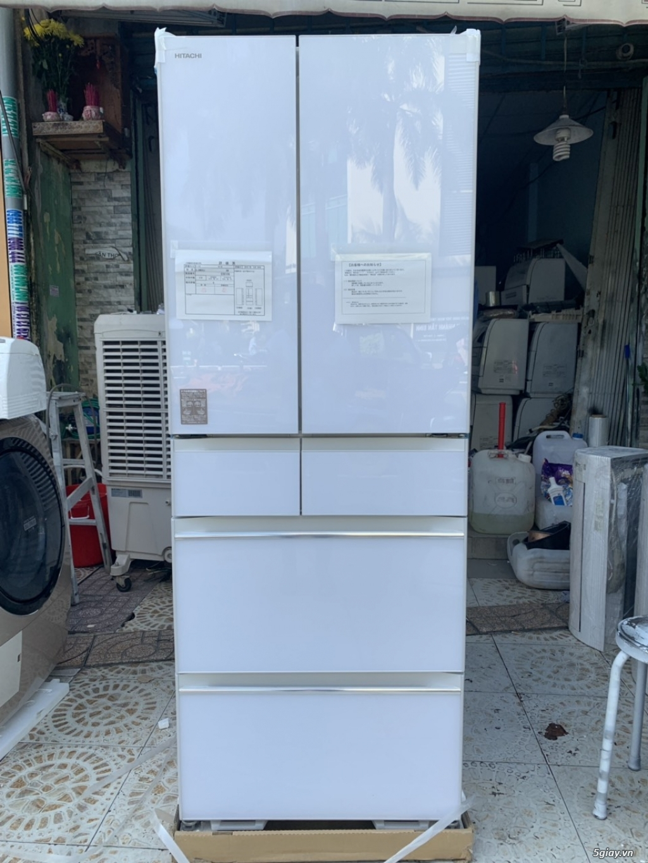 Tủ lạnh Hitachi R-HW60J 600L Màu trắng,Date 2018, Full box, mới 100%