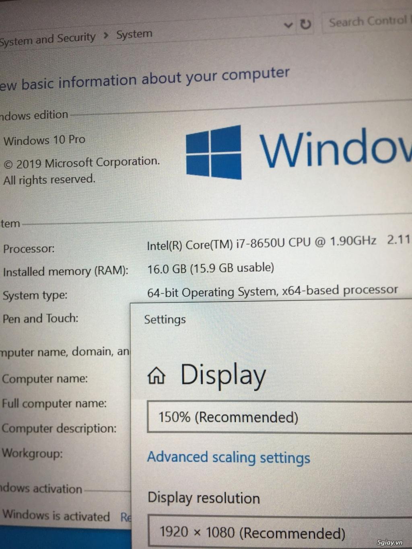 Dell Latitude e5490-i7-8650u-16-512, FHD, Ship Date 5/2019, zin US