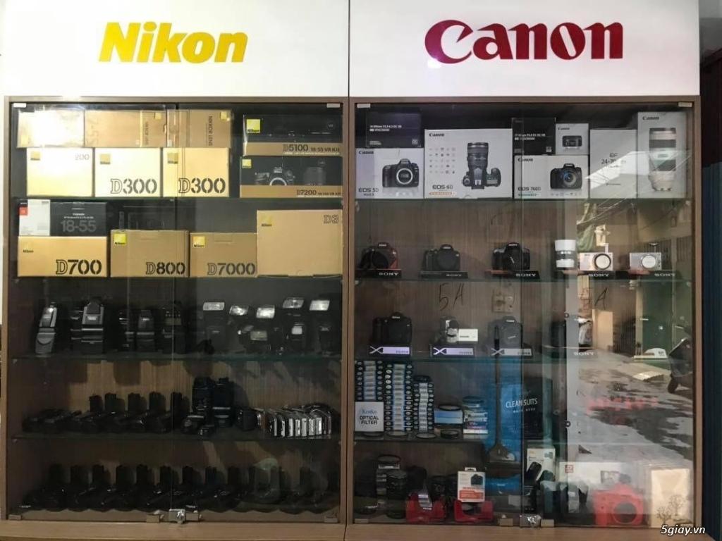 MÁY ẢNH T.SHOP -  Body và Lens Canon Nikon