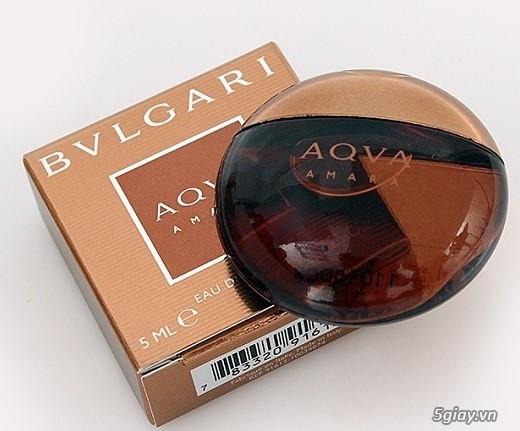 Nước hoa Nam BVLGARI AQVA Amara EDT 5ml- Chính hãng