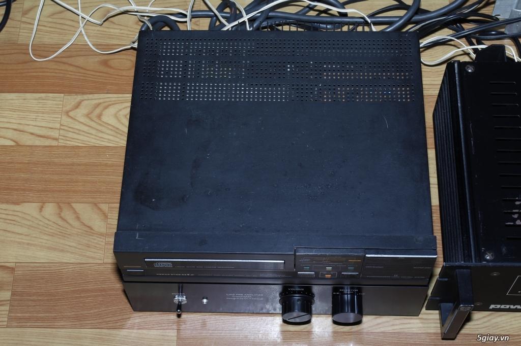 CD Marantz 34, Pre amplier Hiend vintage UESUGI - 2