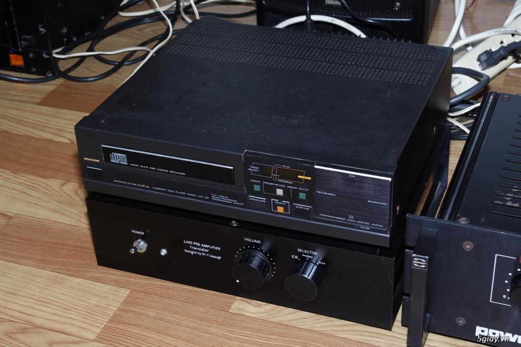 CD Marantz 34, Pre amplier Hiend vintage UESUGI