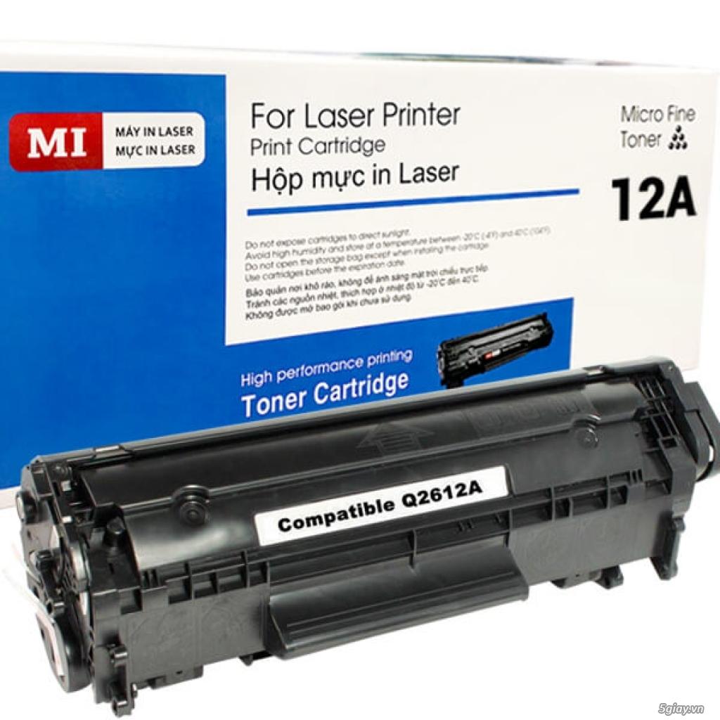 Mực in laser HP 12A (Q2612A) Canon CRT303 MI 12A