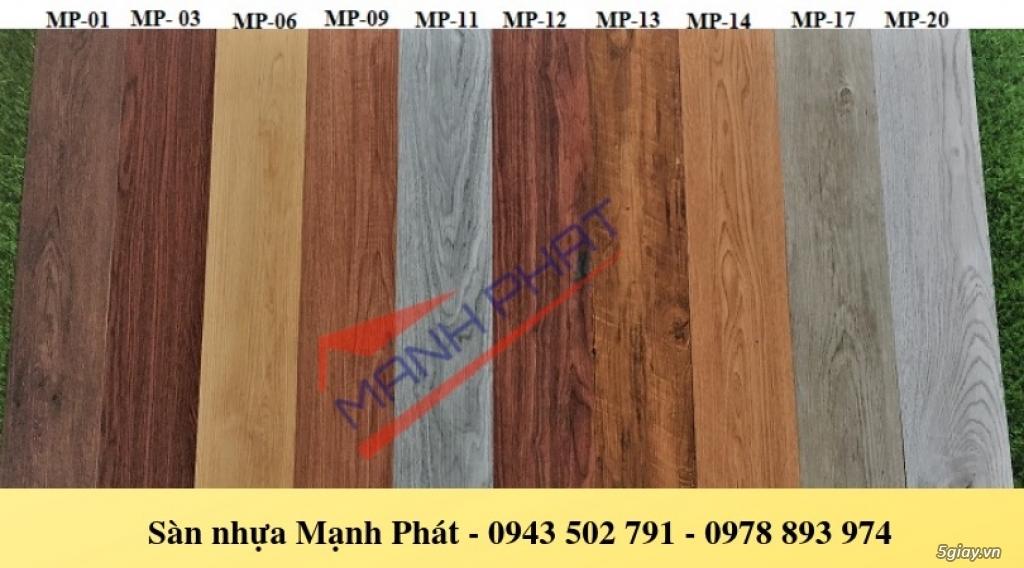 Sàn nhựa vân gỗ,sàn nhựa tự dán giá rẻ - 1