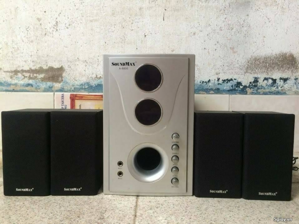 Loa vi tính soundmax 4.1 karOke