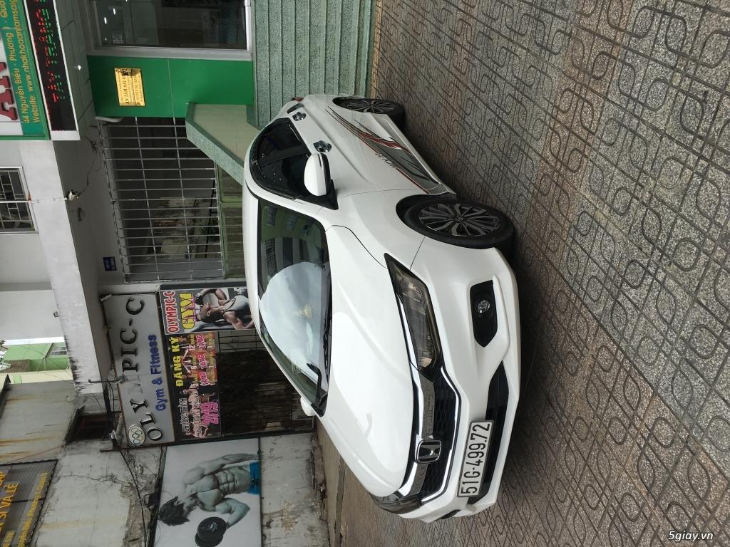 Bán Honda city bản top màu trắng 9 chủ - 1