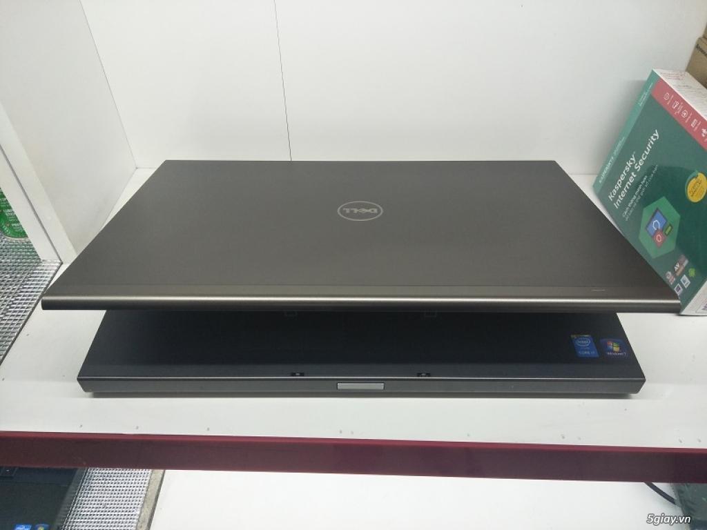 Precision M6800 I7-4800MQ Ram 8g ổ 500g Cạc K4100 Màn Full HD Phím sán - 4