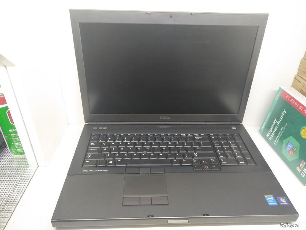 Precision M6800 I7-4800MQ Ram 8g ổ 500g Cạc K4100 Màn Full HD Phím sán - 1