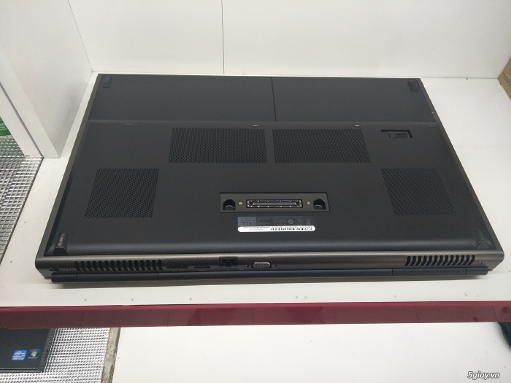 Precision M6800 I7-4800MQ Ram 8g ổ 500g Cạc K4100 Màn Full HD Phím sán - 3