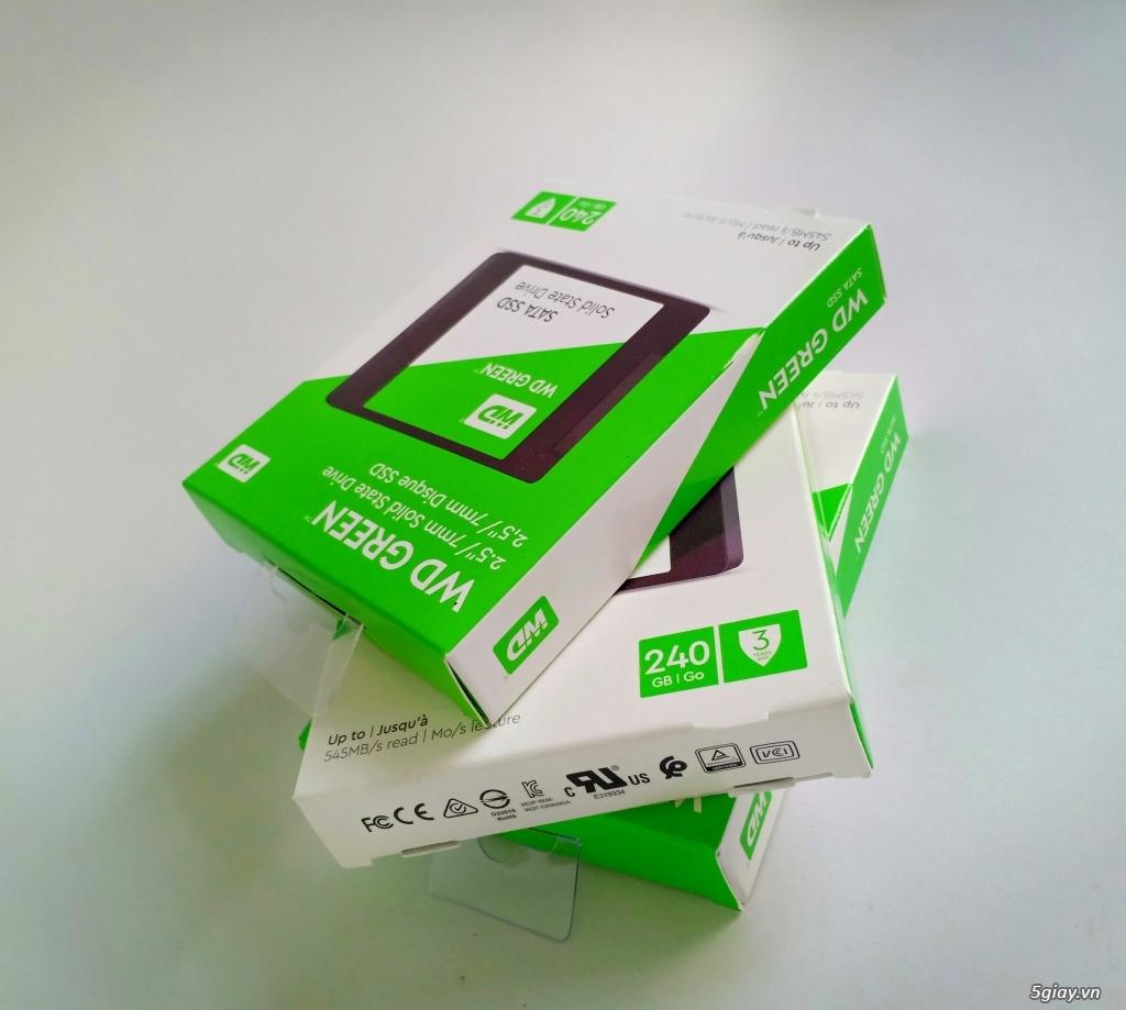 Hàng đã về kho - Ổ cứng SSD WD GREE 240GB 2.5inch - chính hãng