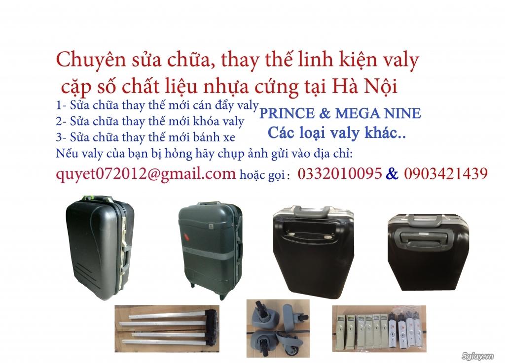 Sửa chữa valy nhựa cứng uy tín tại Hà Nội