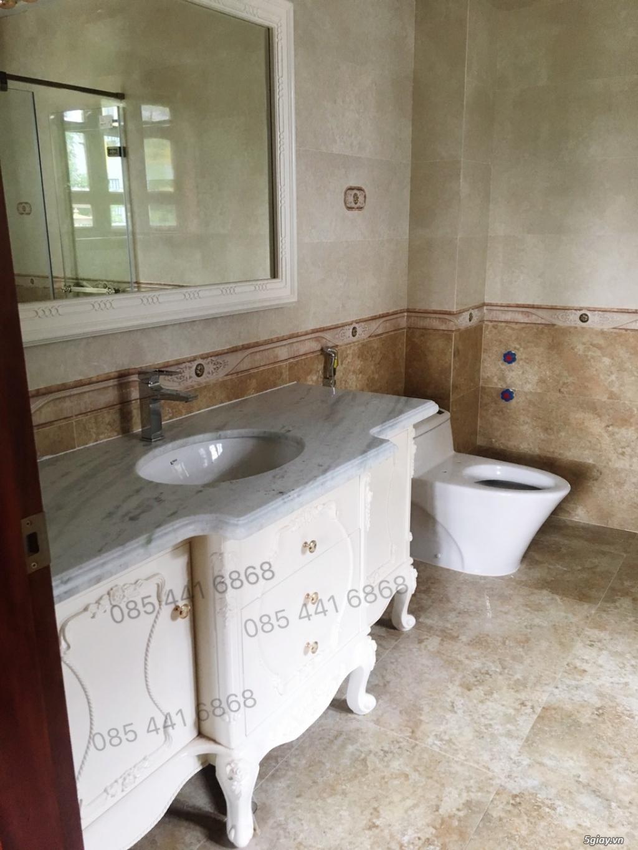 Bán tủ chậu lavabo tân cổ điển, hiện đại, tủ chậu mặt đá phòng tắm - 20