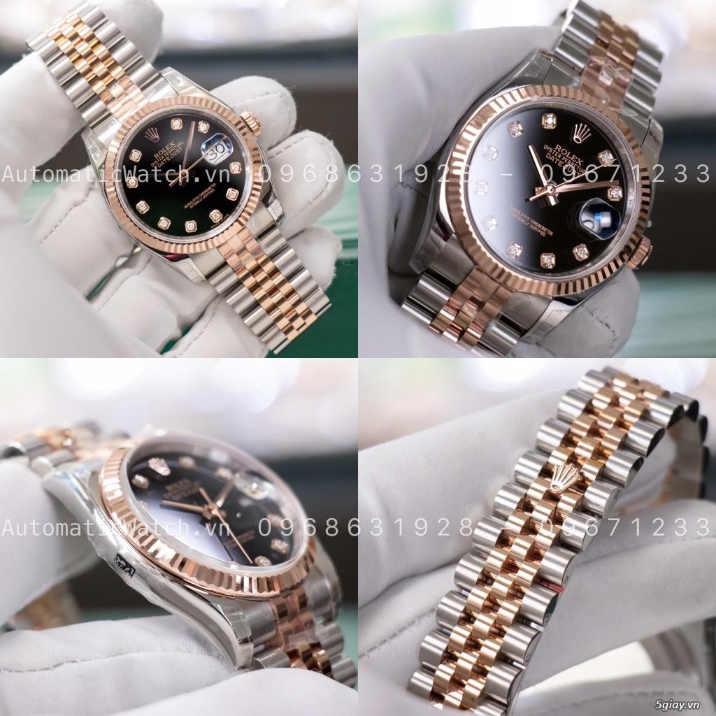 Chuyên đồng hồ Rolex, Omega, Hublot, Patek, JL, Bregue ,Cartier..REPLICA 1:1 AutomaticWatch.vn - 11