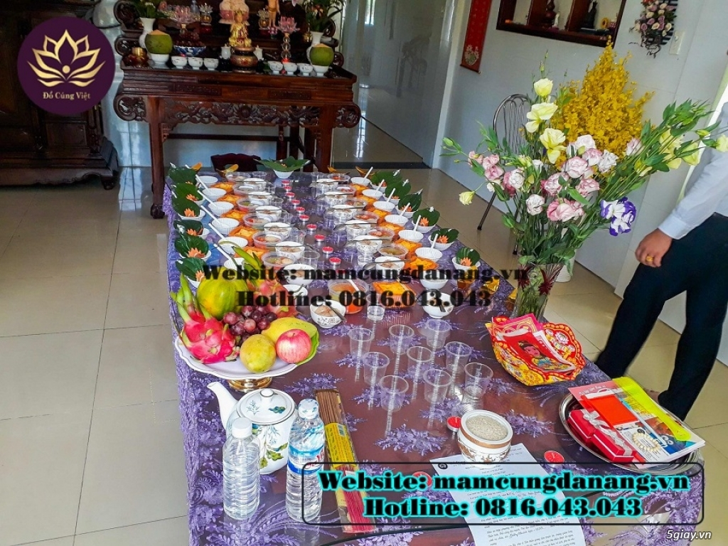 Mâm Cúng Đầy Tháng  Bé Gái Tại Đà Nẵng