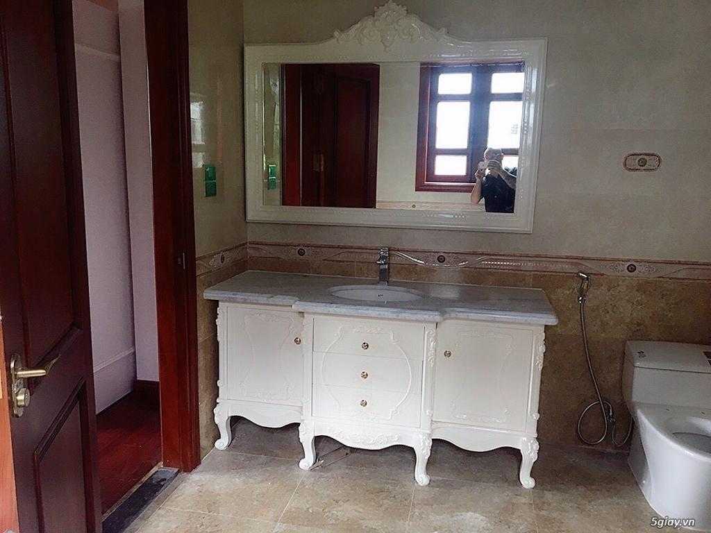 Bán tủ chậu lavabo tân cổ điển, hiện đại, tủ chậu mặt đá phòng tắm - 21