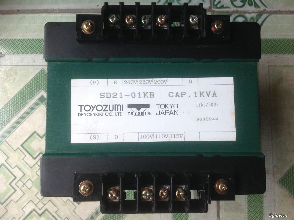 Biến áp cách ly Nhật 500VA -10KVA, lọc nguồn âm thanh..... - 2
