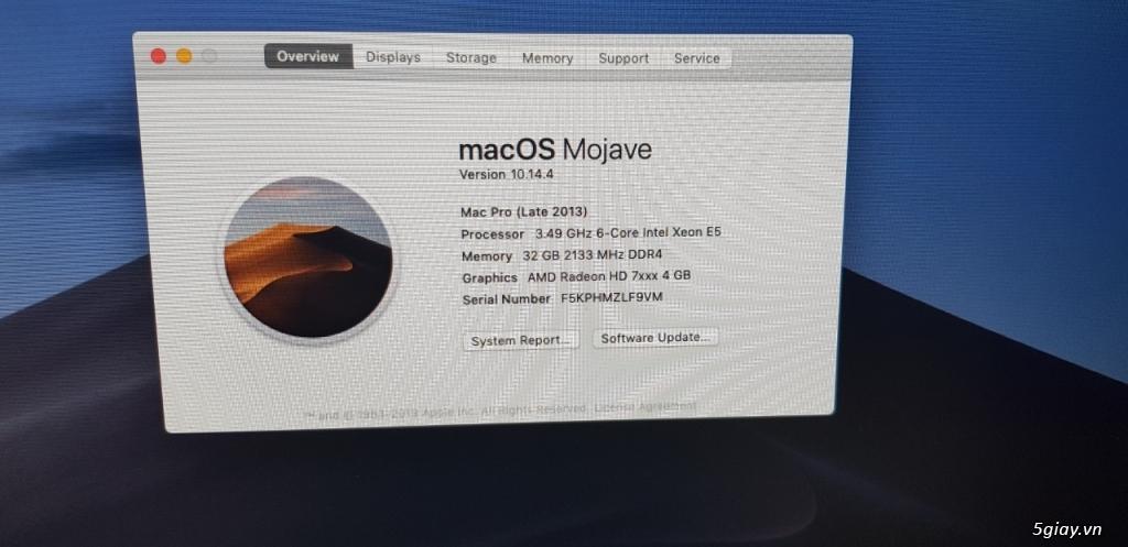 HP Workstation Z440 chạy macOS (hackintosh) ! - TP Hồ Chí