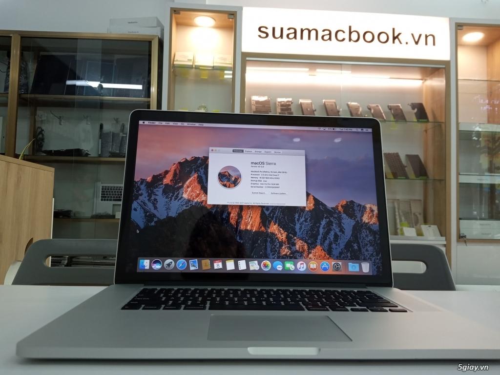 Macbook Pro 15'' 2015 MJLT2 2.5/16GB/512GB/VGA rời 98, 99% - 2