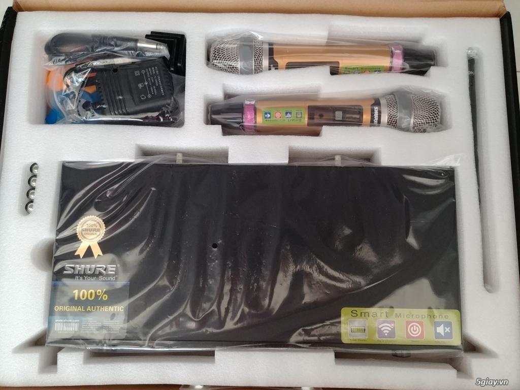 Micro karaoke không dây Shure UGX10ll và UGX20ll . - 3