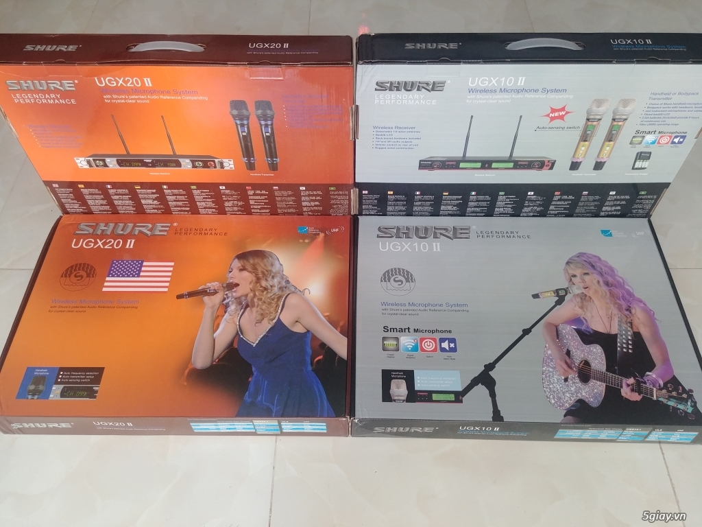 Micro karaoke không dây Shure UGX10ll và UGX20ll . - 2