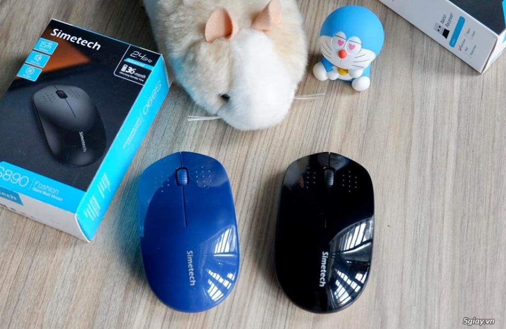 [BTMshop] Chuột không dây Simetech - 3