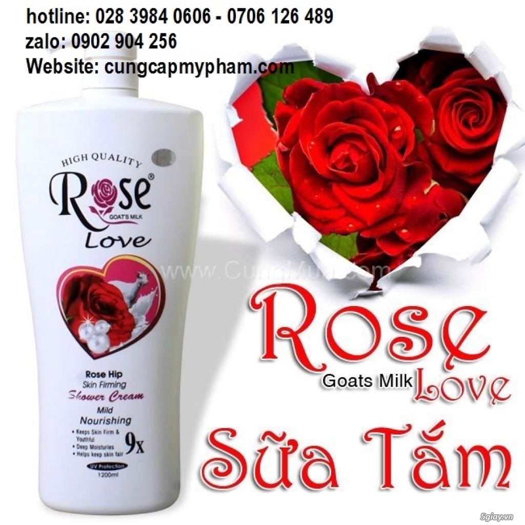 Sữa tắm Rose thể tích 1200ml/ chai