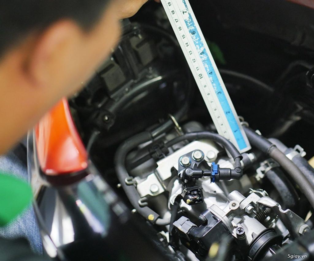 HCM - Dịch vụ kiểm tra test xe máy cũ cho người không biết xem xe - 8