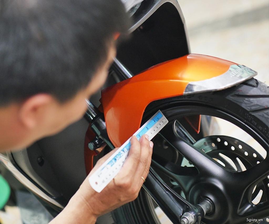 HCM - Dịch vụ kiểm tra test xe máy cũ cho người không biết xem xe - 9