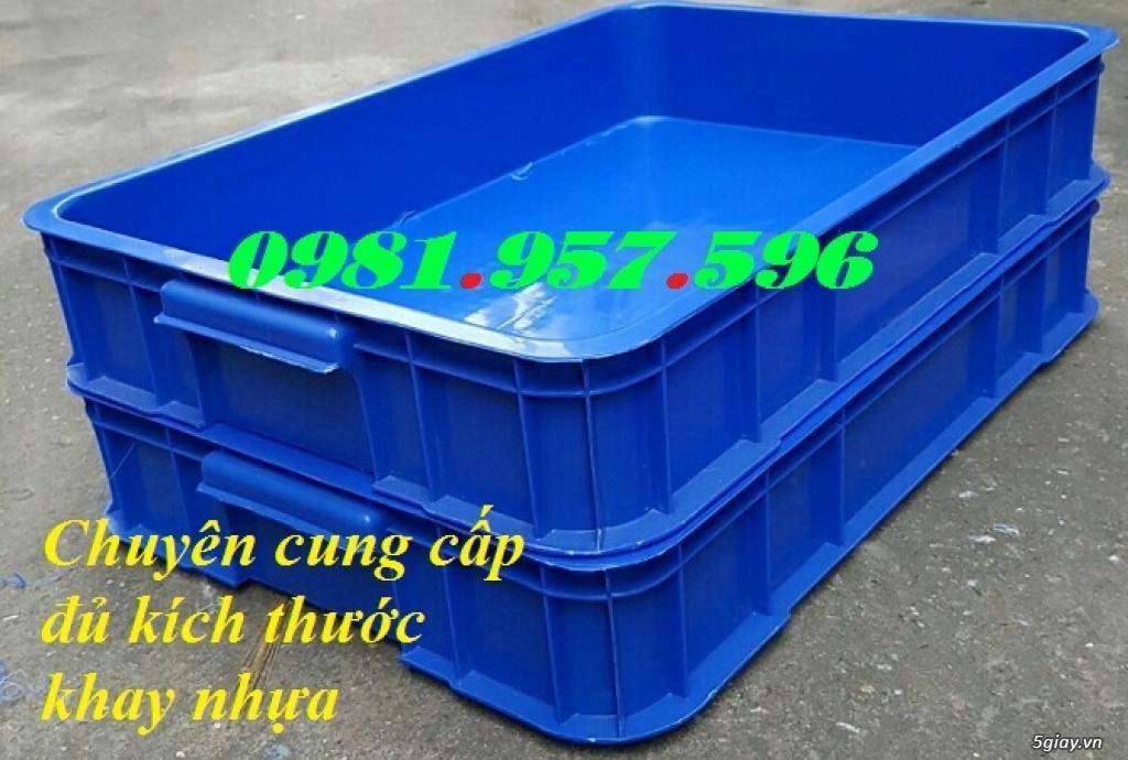 Khay nhựa đựng linh kiện, sóng nhựa bít cao 10cm, thùng nhựa
