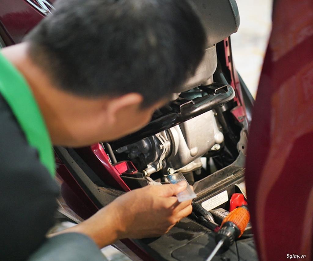 HCM - Dịch vụ kiểm tra test xe máy cũ cho người không biết xem xe - 2