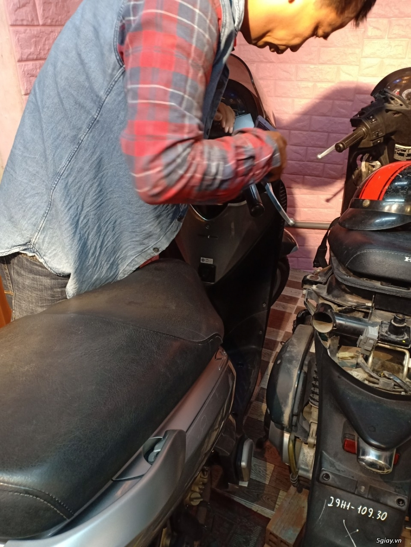 HCM - Dịch vụ kiểm tra test xe máy cũ cho người không biết xem xe - 12